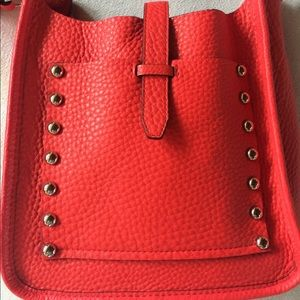 Rebecca Minkoff Pebbled Leather Crossbody